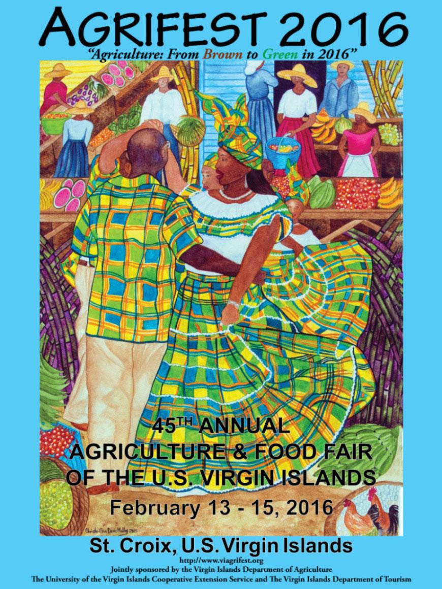 2016 Agrifest St. Croix Poster
